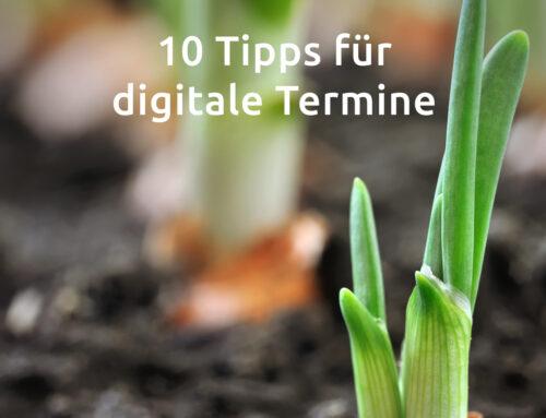 10 Tipps für das Halten digitaler Kundentermine