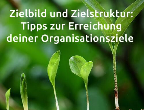 Zielbild und Zielstruktur: Tipps zur Erreichung deiner Organisationsziele